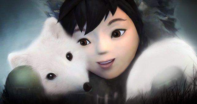 Ein unzertrennliches Paar: Nuna und ihr Fuchs.