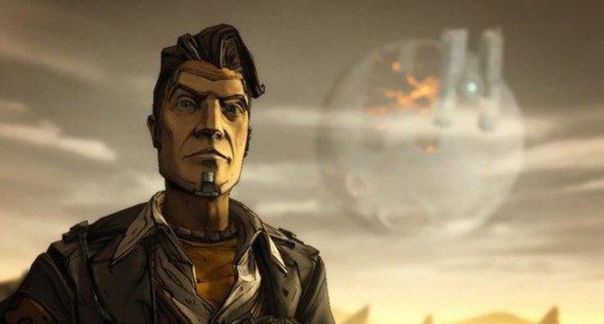 Jack posiert vor der Helios-Raumstation.