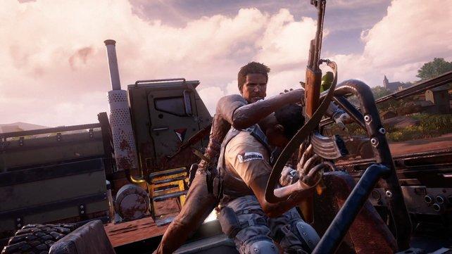 Nathan Drake lässt es in Uncharted 4 wieder richtig krachen.