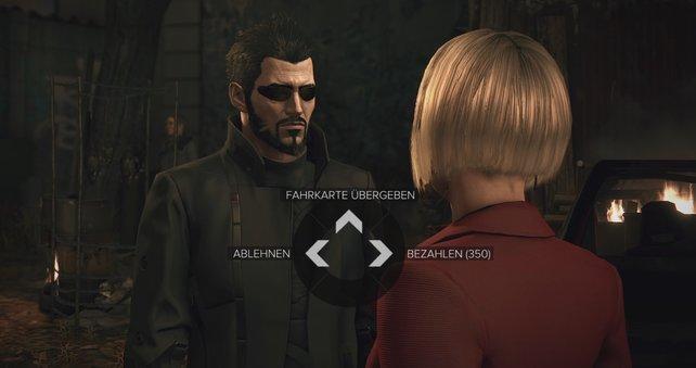 """Als Dank versorgt euch Dobromila den letzten Informationen zur Nebenquest """"Black ist weg""""."""