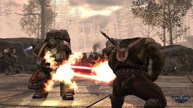 Warhammer 40.000 - Regicide führt den ewigen Krieg Menschen gegen Orks auf dem Schachbrett weiter.