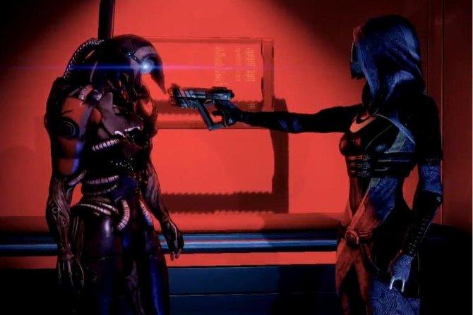 Freund oder Feind? Anfangs gibt es in Mass Effect 2 durchaus Verunsicherungen gegenüber Legions Absichten.