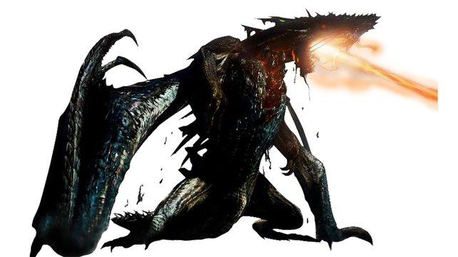 Eine wandelnde Hölle aus Öl und Feuer: der Gogmazios