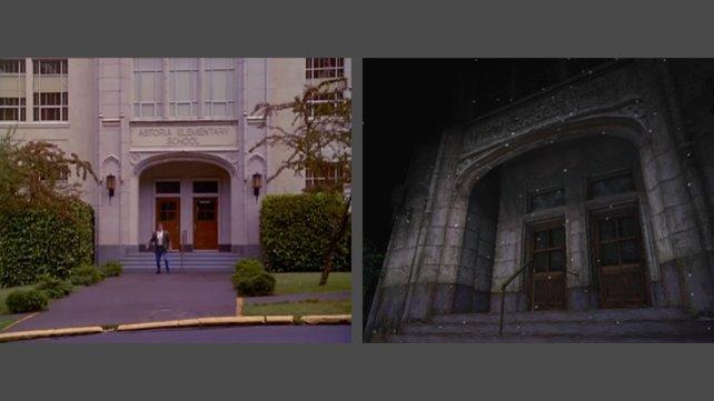 Hier seht ihr den Eingangsbereich der Schule.