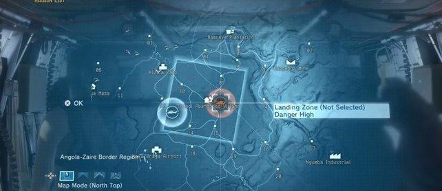Um diese Landezone zu erhalten, müsst ihr den Flugabwehrrad an derselbigen Stelle zerstören.