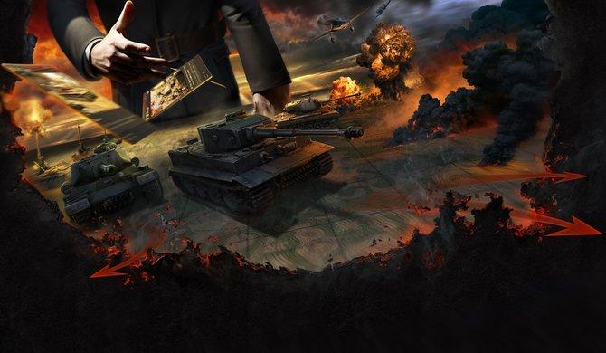 Mit World of Tanks - Generals rollen die Panzer in Kartenform ein.