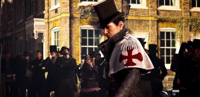"""Mr.Strain, ein Banden-Anführer und Gegner der """"Rooks"""" (Jacobs """"Gang"""")"""