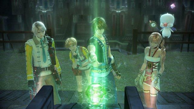 In Final Fantasy 13-2 trefft ihr alte Freunde und neue Figuren.