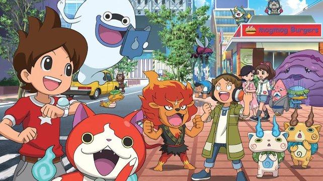 Yo-Kai Watch soll das neue Pokémon werden. Das passende 3DS-Spiel erscheint am Freitag.