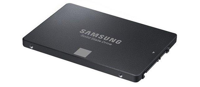 Erster Teil des Gewinns: 750 EVO 500 GB.