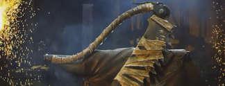 Bloodborne: Schmiede bauen das Sägehackbeil nach