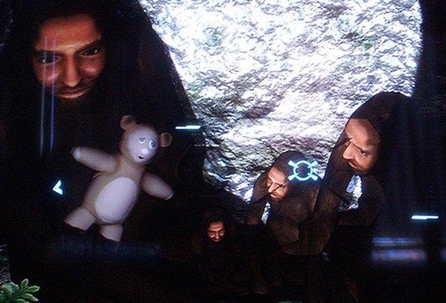 Hier seht ihr die Höhlenmenschen aus Halo 3.