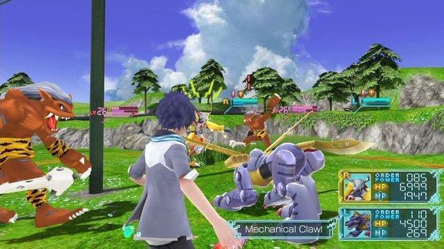 Eure Digimon helfen euch dabei, alle Trophäen in Digimon World - Next Order freizuschalten.