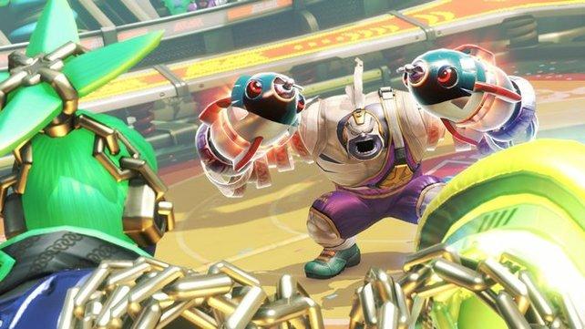 Ninjara gehört zu den schnellsten Kämpfern in ARMS.