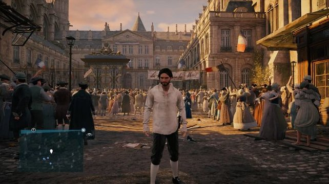 Arno Dorian ist der Protagonist in Assassin's Creed: Unity.