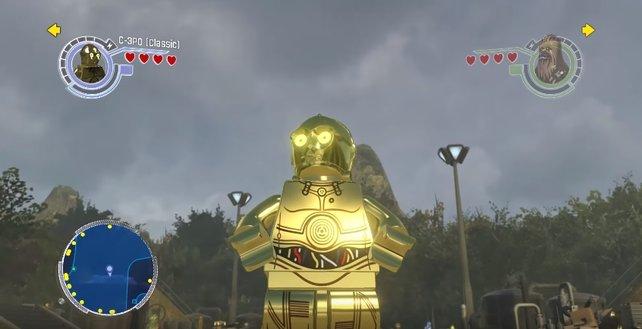 C-3PO darf nicht fehlen: Mit diesen Cheats und Codes schaltet ihr alle Charaktere frei.