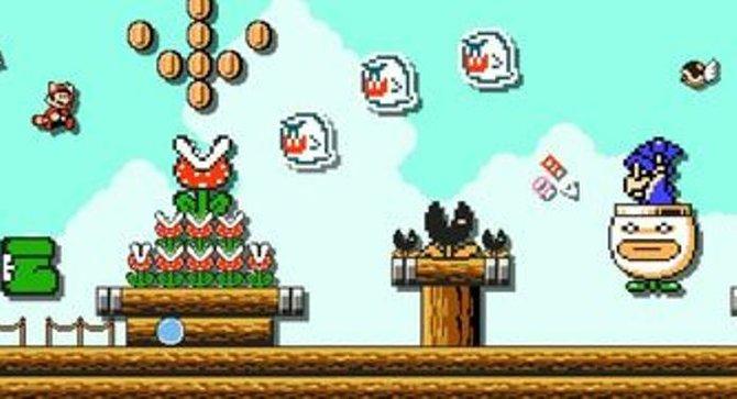 Buu Huus auf dem Flugschiff und ein Magikoopa in der Clownskutsche? Der Super Mario Maker erlaubt euch alle nur denkbaren Kombinationen.