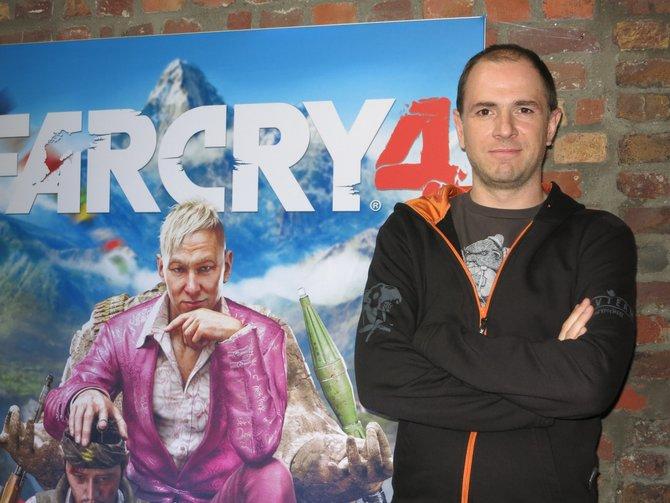 Alex Hutchinson ist der kreative Kopf hinter Far Cry 4. Zuvor arbeitete er u.a. an Assassin's Creed 3.