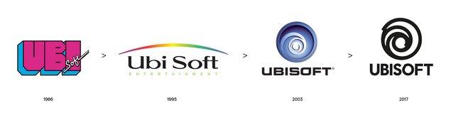 Die Ubisoft-Logos von 1986 bis 2017 im Vergleich: Es hat sich viel geändert.