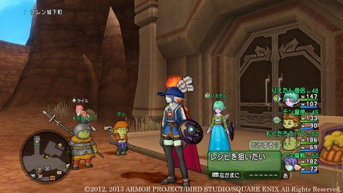 Dragon Quest 10 ist ein Online-Rollenspiel-Ableger der langlebigen JRPG-Reihe.