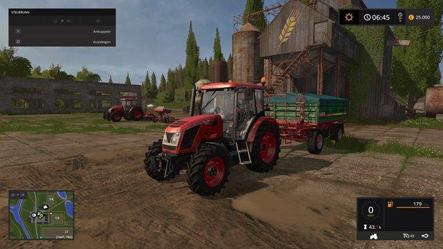 Auch auf den Konsolen macht der Landwirtschafts-Simulator optisch eine gute Figur.