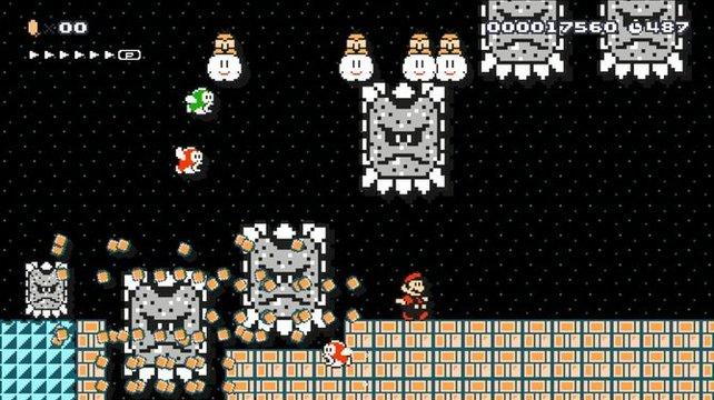 In Super Mario Maker sind die verrücktesten Level möglich.