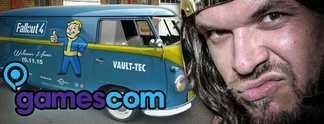Vormerken! Gamescom-Treffen 2015: Am Fallout-Bus wartet Onkel Jo auf euch