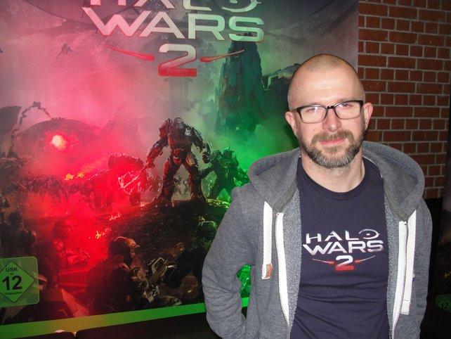 Alistair Hope vom Entwicklerstudio Creative Assembly stand für Interviews zur Verfügung.