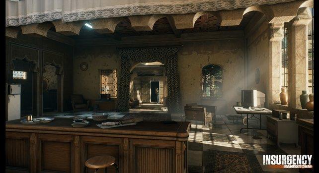 Auch bei der Gestaltung von Innenräumen scheint sich das Team große Mühe zu geben.