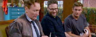 "Mario Kart 8: Conan O'Brien wird f�rs Verlieren mit ""Penes"" bestraft"