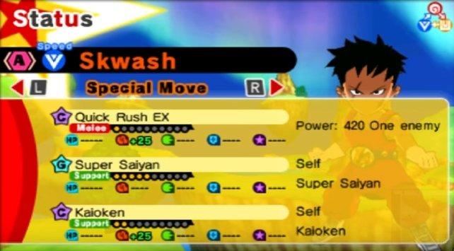 """Diese Fähigkeit - """"Super Saiyajin"""" (SSJ) - wollt ihr haben."""