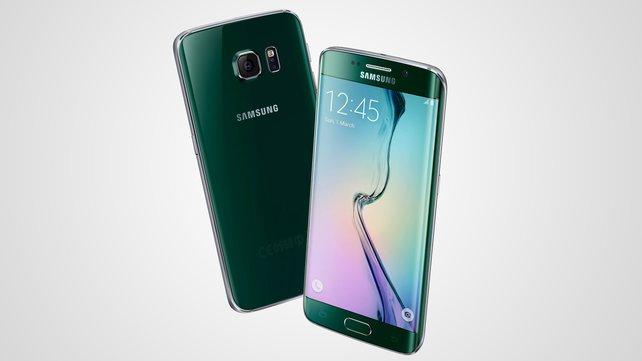 Das neue Galaxy S6 Edge besitzt abgerundete Bildschirmecken.