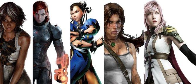 Weibliche Hauptfiguren gewinnen zunehmend an Popularität.