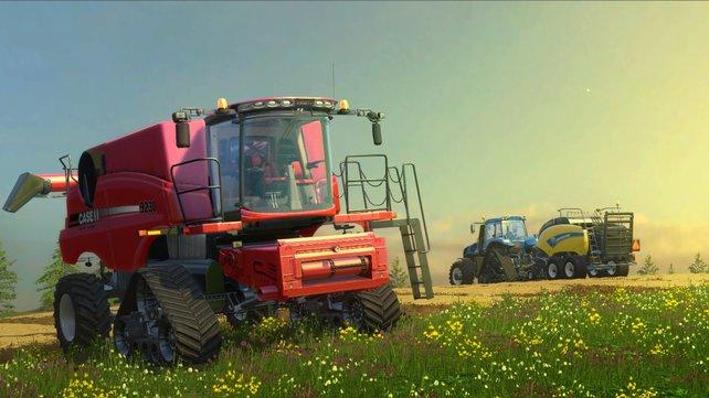 Der Traum eines jeden Hobby-Landwirts.
