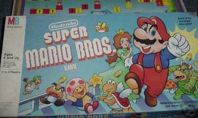 Die Flut an Mario-Merchandising ist berüchtigt wie kaum etwas Vergleichbares. Gesellschaftsspiele sind da nur die Spitze des Eisbergs.