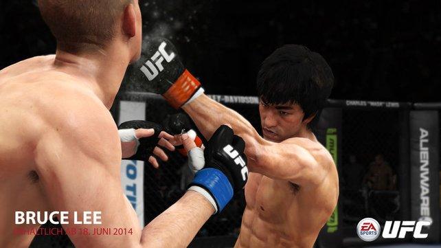 Bruce Lee als spielbarer Charakter.