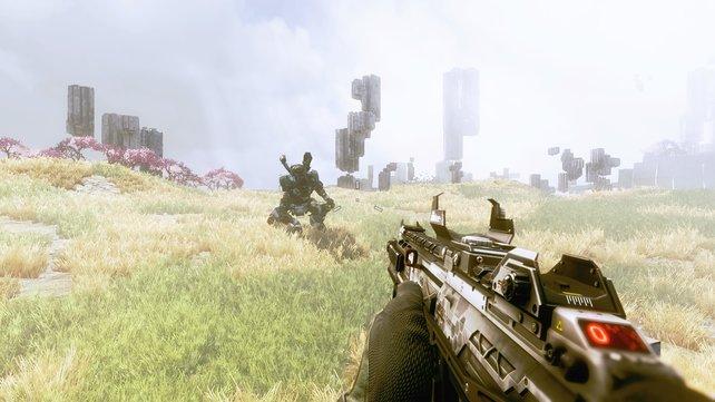 Auch in der neuen Einzelspieler-Kampagne von Titanfall 2 spielen die Titans eine wichtige Rolle.