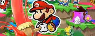 Tests: Paper Mario - Color Splash: Farbig-Flaches Abenteuer