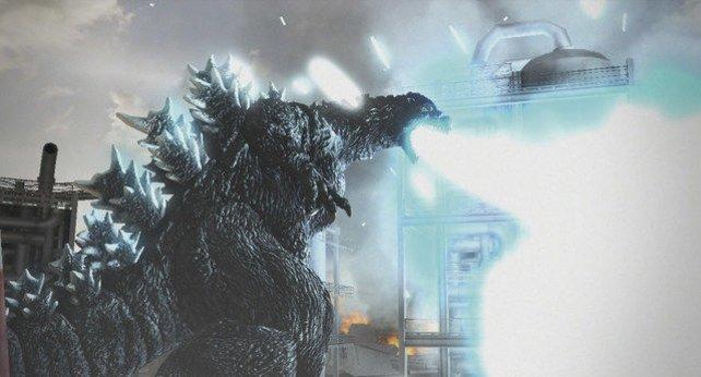 In der Rolle von Godzilla legt ihr Tokio in Schutt und Asche.