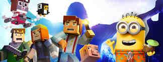 Specials: Neues f�r Android und iPhone - Folge 47: Mit Minecraft, Guitar Hero und Pac-Man