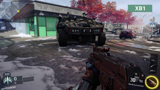 Aus dem Panzer auf der Xbox One ...
