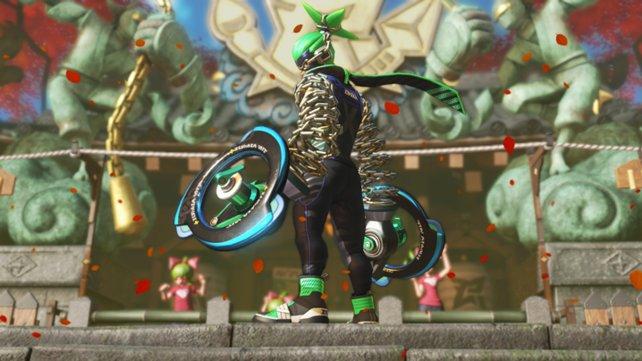 Ninjara im Charakter-Trailer zu ARMS