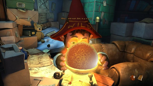 Wilbur ist nun Professor an einer Magierschule in Seefels.