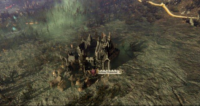Die Hauptsiedlung der Vampirfürsten