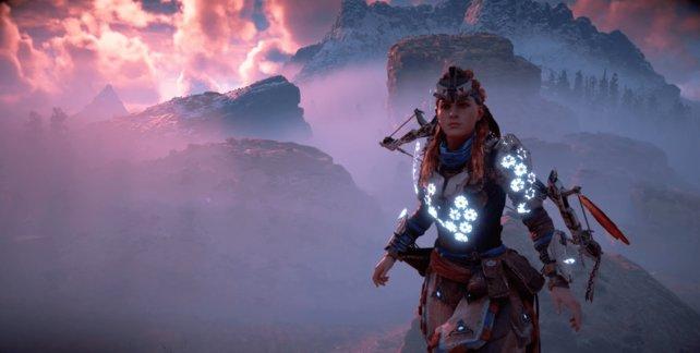 Das Schildweberin-Outfit schützt euch vor jeglichem Schaden in Horizon - Zero Dawn.