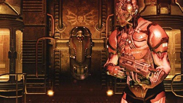 Bislang gab es nur ein kurzes Video zu Doom 4 zu sehen.