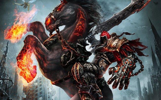 Krieg kämpft in dem Spiel Darksiders unter anderem gegen Straga.