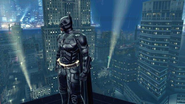 Batman kommt auch nur nachts raus.