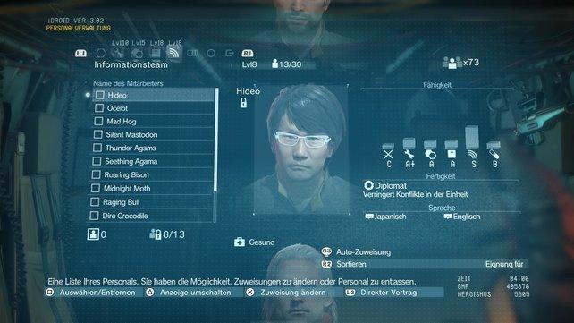 Hideo Kojioma - Mitglied im Informationsteam