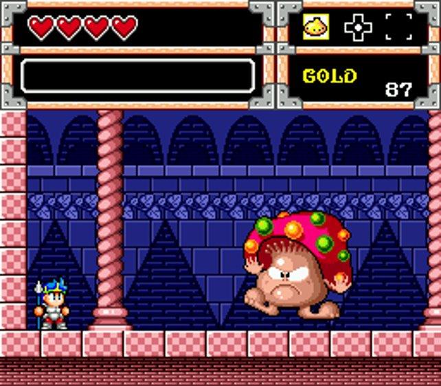 In der Monster World gilt es ein paar dicke Bosse zu erlegen.